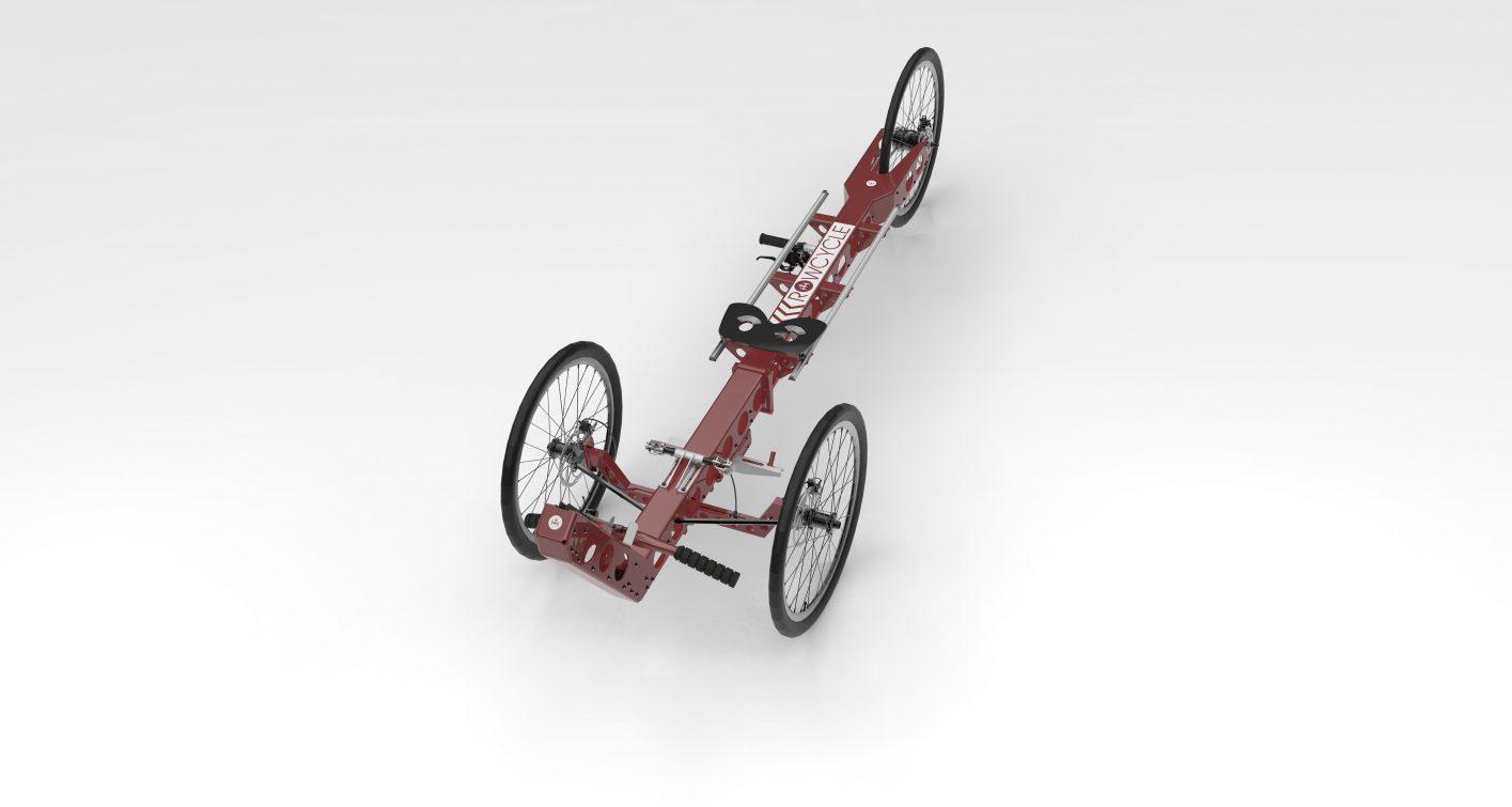 Rowcycle_Ruderfahrrad_CAD